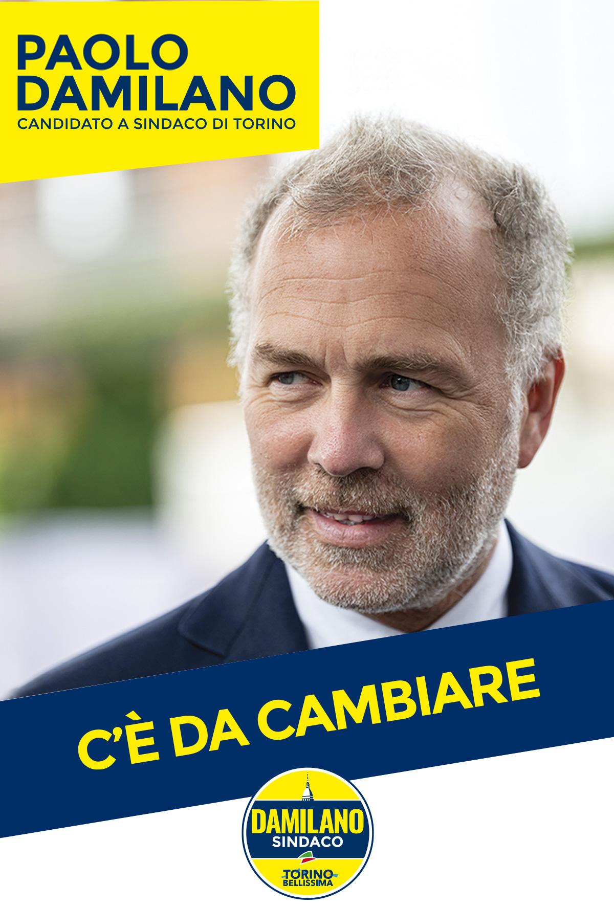 Paolo Damilano Sindaco Torino 2021